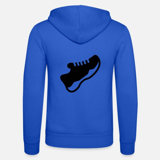 Feet Hoodies & Sweatshirts - shoe - Unisex Zip Hoodie royal blue