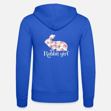 Rabbit Lovers,Rabbit Girl, New Rabbit Lovers Gift - Unisex Zip Hoodie