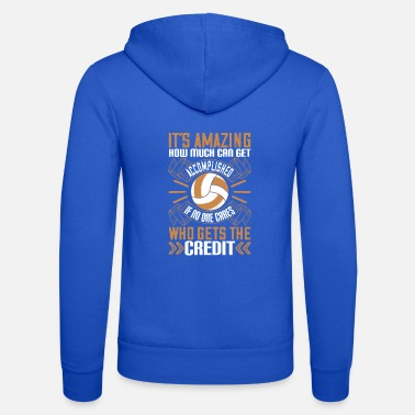 Court It's amazing how much can get accomplished if no - Unisex Zip Hoodie