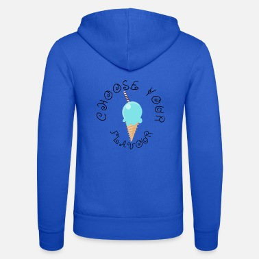 Flavour Bubblegum choose your flavour - Unisex Zip Hoodie