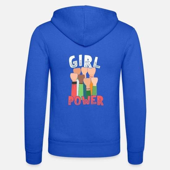 Feminist Pullover & Hoodies - Girl Power Great Feminist - Unisex Kapuzenjacke Royalblau