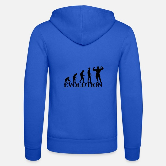 Fitness Hoodies & Sweatshirts - evolution - Unisex Zip Hoodie royal blue