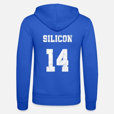 Silicone silicon element t shirt - Unisex Zip Hoodie