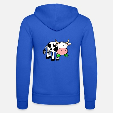 Cow cow - Unisex Hooded Jacket by Bella + Canvas