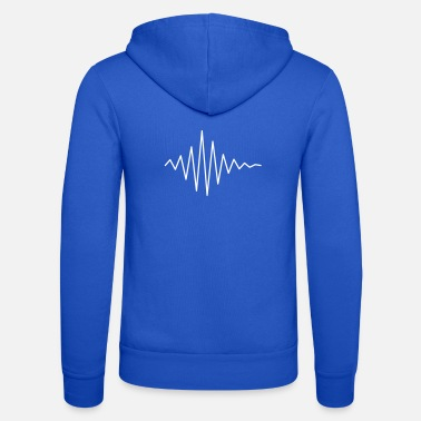 Le Son Pulse / soundwave II - Unisex zip hoodie