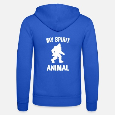 Maskot BIGFOOT MY SPIRIT ANIMAL W - Unisex hettejakke