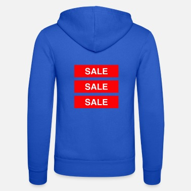 Sale Sale Sale Sale - Coloured - Unisex Zip Hoodie