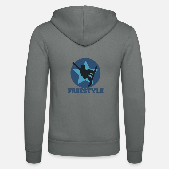 Freestyle Sweat-shirts - Freestyle - Veste à capuche unisexe gris