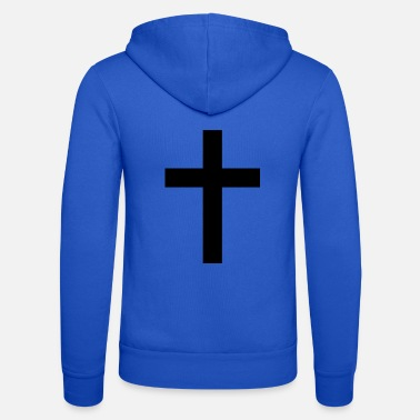 Cross Christian cross - Unisex Zip Hoodie