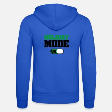 Gamer HOLIDAY MODE Gift Motive T-Shirt - Unisex Zip Hoodie