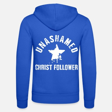 Christ-follower Unashamed Christ Follower - Unisex Zip Hoodie