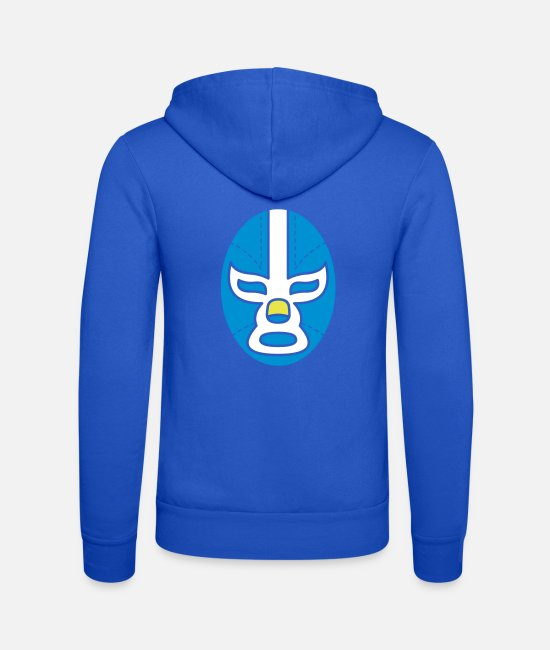 Be Different Hoodies & Sweatshirts - Mask Mask - Unisex Zip Hoodie royal blue