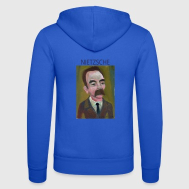 Nietzsche Nietzsche - Unisex Hooded Jacket by Bella + Canvas