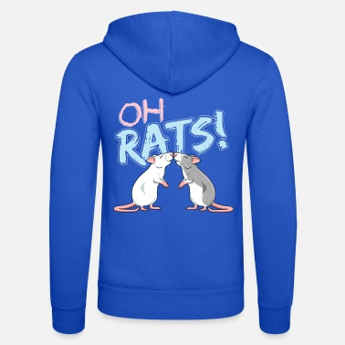 Pet Oh Rats! - Unisex Hooded Jacket by Bella + Canvas