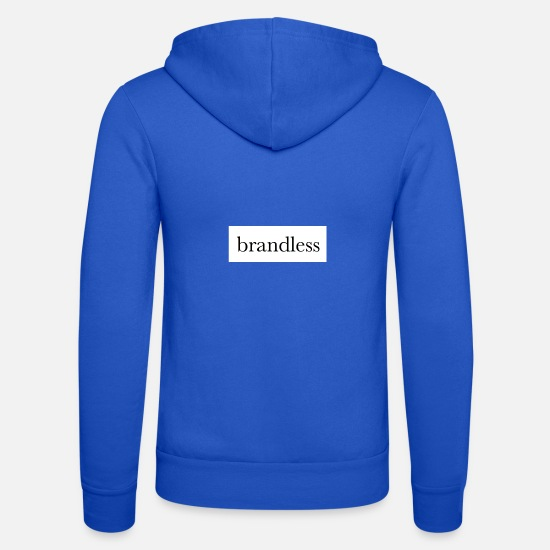 Logo Hoodies & Sweatshirts - forms - Unisex Zip Hoodie royal blue