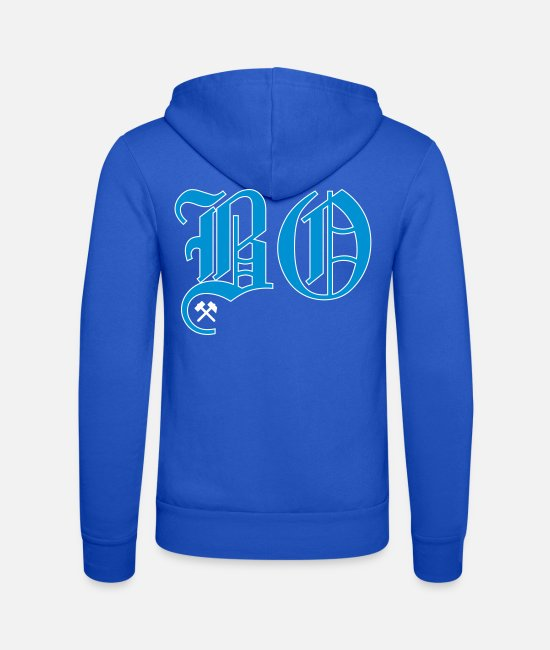 Bochum Hoodies & Sweatshirts - Bochum - Unisex Zip Hoodie royal blue