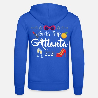 Weekend Bachelorette Atlanta Girls Trip 2021 print - Unisex hættejakke