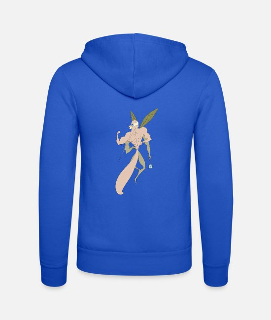 Mosquito Hoodies & Sweatshirts - muscle mosquito - Unisex Zip Hoodie royal blue