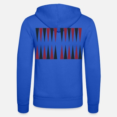 Hobby Backgammon Player Board Game Gift - Unisex Zip Hoodie