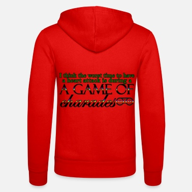 Charade Game of Charades 53 G - Unisex Zip Hoodie