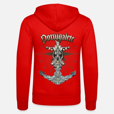 Portugalete Anchor Nautical Sailing Boat Summer - Unisex Zip Hoodie