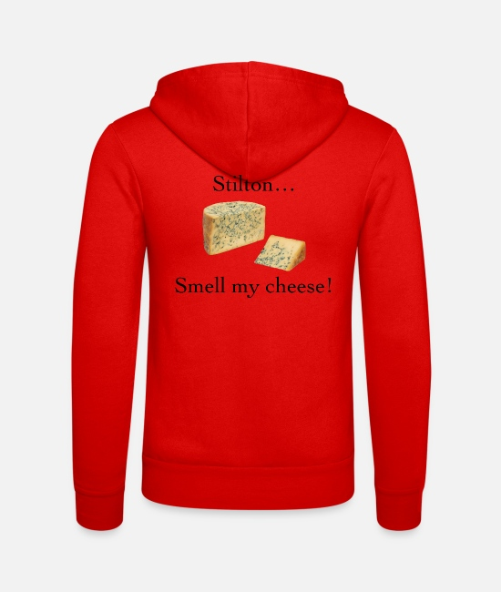 Smell My Cheese Hoodies & Sweatshirts - Smell My Cheese - Unisex Zip Hoodie classic red