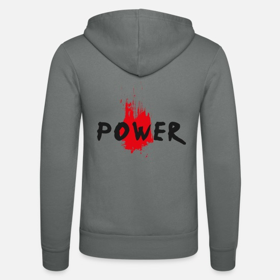 Sport Sweat-shirts - POWER RED - Veste à capuche unisexe gris