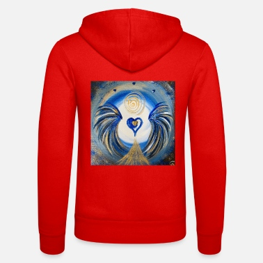 Oas Angel of the Heart of Natural Knowledge - Zip hoodie unisex