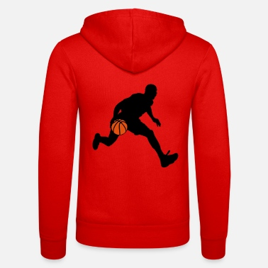 Basketball Player basketball player - Unisex Zip Hoodie
