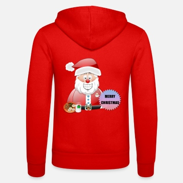 Job Underwear Santa 16 Merry Christmas - Unisex Zip Hoodie