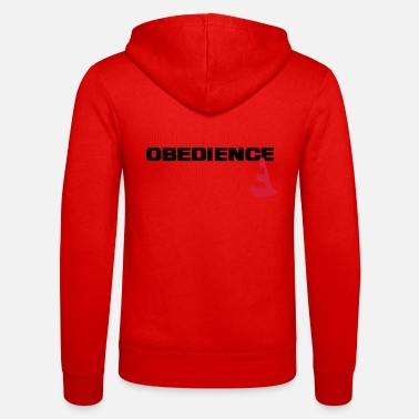 Obedience Obedience with pylons - Unisex Zip Hoodie