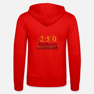 250 Years 250 Years of Beethoven music - Unisex Zip Hoodie