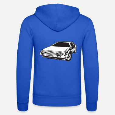 Delorean DMC DeLorean - Unisex Zip Hoodie