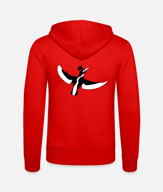 Water Hoodies & Sweatshirts - Kingfisher - kingfisher - Unisex Zip Hoodie classic red