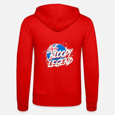 Legend Bloody Legends logo - Unisex Zip Hoodie