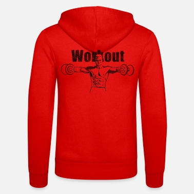 Workout workout - Zip hoodie unisex