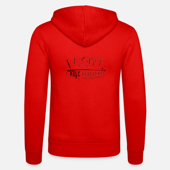 Play Hoodies & Sweatshirts - Sorry i Cant its rehearsal actor gift - Unisex Zip Hoodie classic red