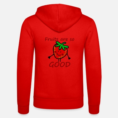 Strawberry Fruits - Unisex Zip Hoodie