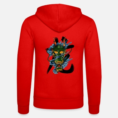 Usage Dragon - Unisex Zip Hoodie