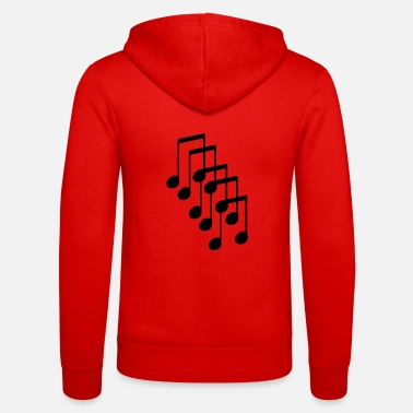 Music Note musical note - Unisex Zip Hoodie