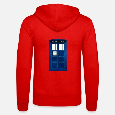 Doctor Doctor Who Police Box - Unisex Zip Hoodie