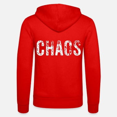 Chaos chaos - Unisex zip hoodie