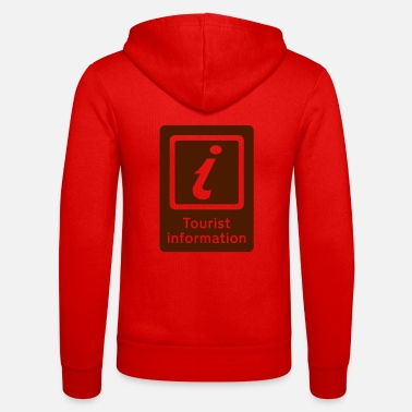Tourist Toerisme,Tourist Information,Sight Seeing - Unisex zip hoodie