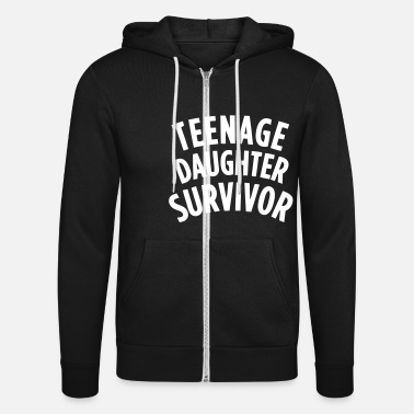 Teenager TEENAGE DAUGHTER SURVIVOR - Veste à capuche unisexe