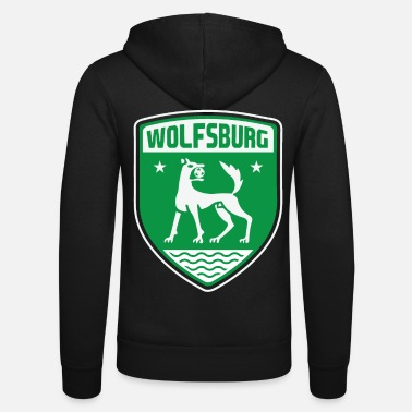 Wolfsburg Wolfsburg - Unisex Hooded Jacket by Bella + Canvas