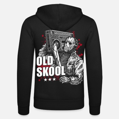 Hip chemise old school hip hop old school - Veste à capuche unisexe