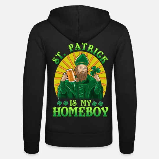 Children Hoodies & Sweatshirts - Mr. Patrick is my fun Friend - Unisex Zip Hoodie black