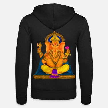 Ganesha Ganesha - Unisex Hooded Jacket by Bella + Canvas