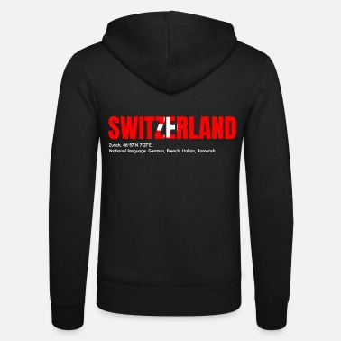 Swiss German Swiss German - Unisex Zip Hoodie