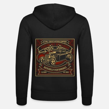 Hot Custom Hot Rod Classic - Unisex Zip Hoodie